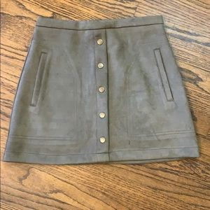 HYFVE Small Olive Skirt